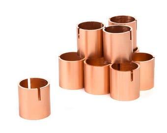 Set of 25 - Table Number Holders Rose Gold Copper Place Card Holders - Place Card Holder - Photo Holder - Table Number Stands Holder Copper
