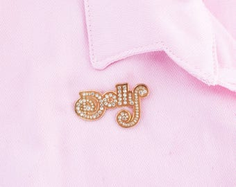 Dolly Gem Pin