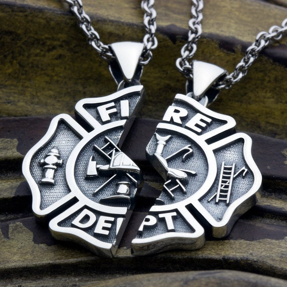 Large firefighter fire department maltese cross two piece aloadofball Gallery
