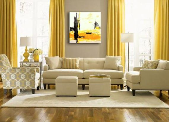 32 Original Abstract Acrylic Painting Wall Art Modern