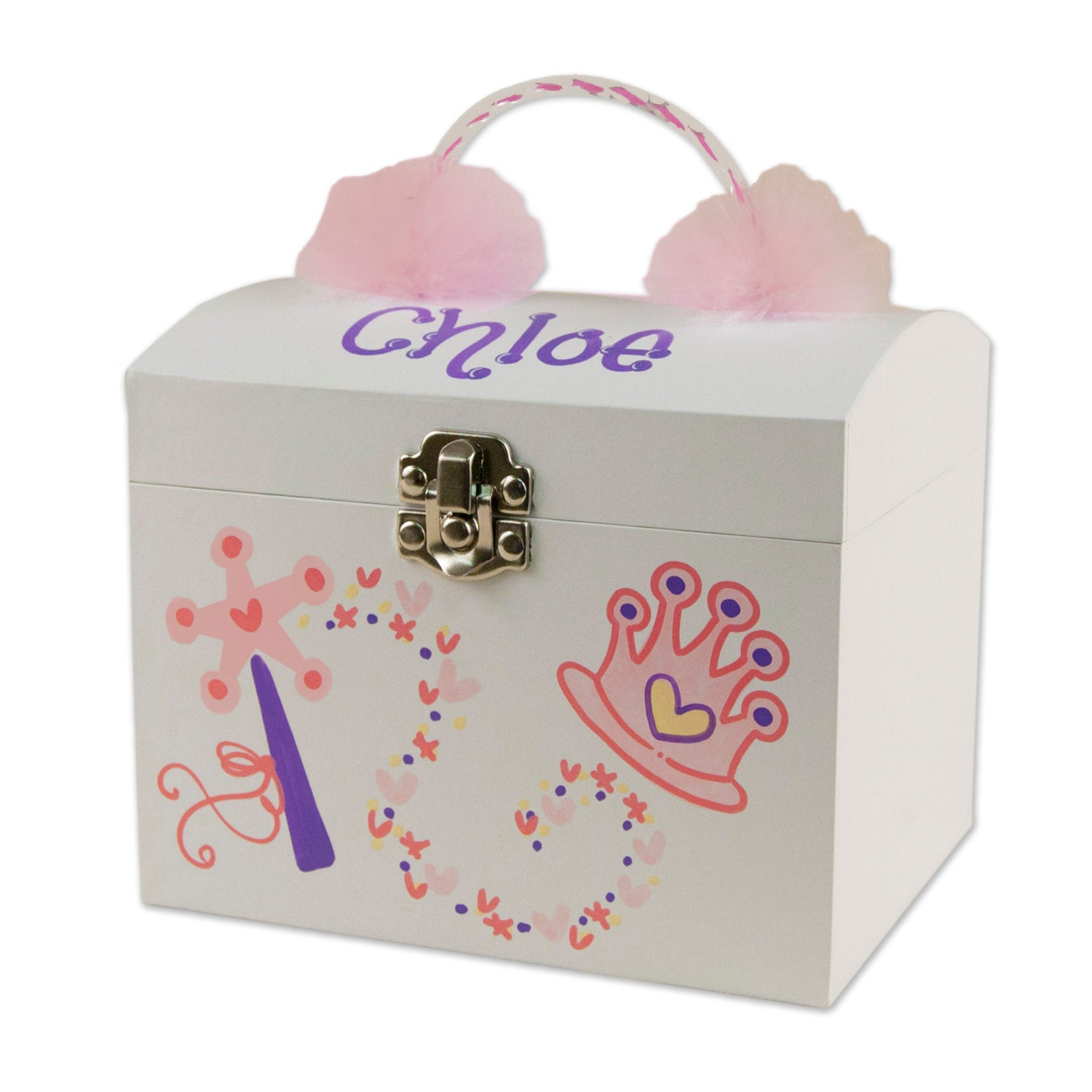 Personalized Musical Ballerina Jewelry Box for Girls Ballet