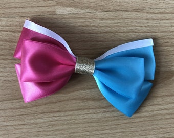 Disney Inspired Princess Aurora - Make it Pink! Make it Blue! (Sleeping Beauty) Hair Bow