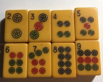Vintage Bakelite Mahjong Tiles - sold individually