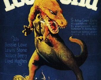 The Lost World  Movie Poster Digital Print Various Sizes