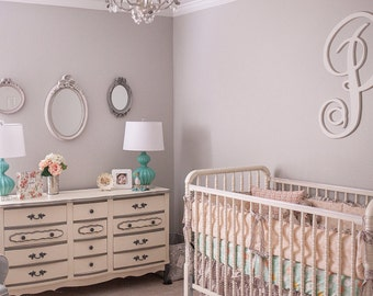 baby girl crib bedding floral nursery vintage floral rh etsy com shabby chic baby furniture shabby chic baby furniture uk