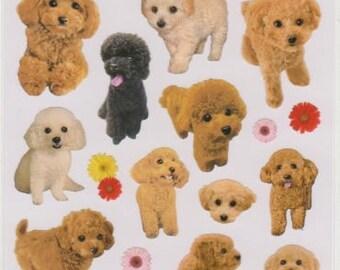 Dog Stickers - Puppy Stickers - La Dolce Vita Mind Wave Stickers - Reference A4256
