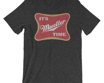 Original Distressed It's Mueller Time | Vintage Anti-Trump Mueller T-Shirt | Impeach Trump | Dump Trump | Not My President | Resist Trump