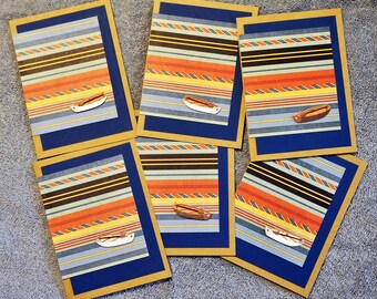Nautical Notecards, Handcrafted greeting cards