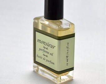 MONSIEUR Perfume Oil - 15 ml/0.5 oz