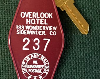 Stephen King-The Shining /Overlook Hotel Room Key #237  This item was recommended in BUZZFEED As A Must Have-Check Web Site Below