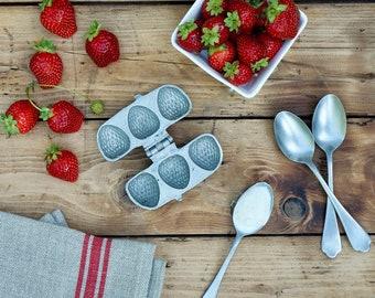 1880 Strawberry Ice Cream Mold