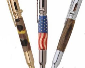 Bolt action Pen/bolt action pen/Pen-Wood Pen-Pen-Writing Instrument-Pens-Pen-Pen gun-Pen-Antler Pen-Writing Pen-Antler-Hunting Guys Gift