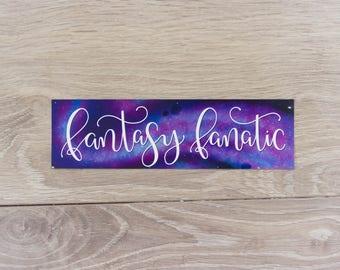 Fantasy Fanatic - Bookmark