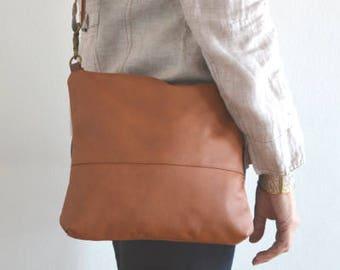 Leather Crossbody Bag, Genuine Leather Purse