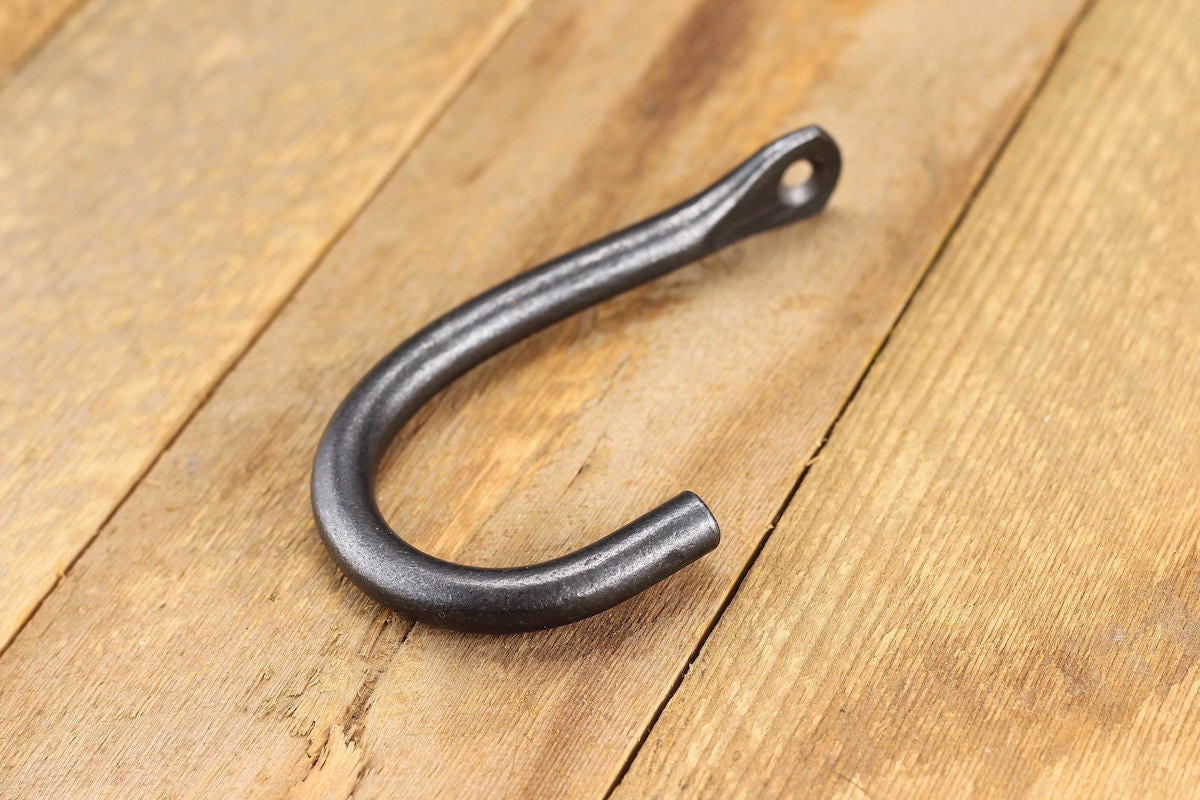 Simple Wall Hook Coat Hook Hand Forged Iron coat rack hook