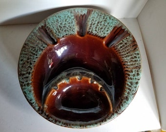 Mid-century Modern Pottery Ashtray