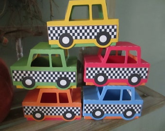 Car Favor Box Set of 15 with Free Shipping