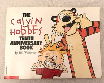 Vintage Calvin And Hobbes Comic Book