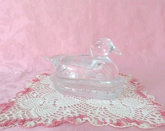 LE Smith Crystal Covered Duck