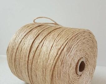 Roll of medium jute string 315 metres long