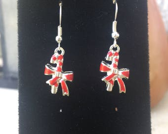 Candy Cane Earrings, Christmas Jewelry, Christmas Earrings, Holiday Jewelry, Winter Jewelry