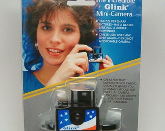 GLINK Micro 110 Camera, STARS & STRIPES graphics, New in Package