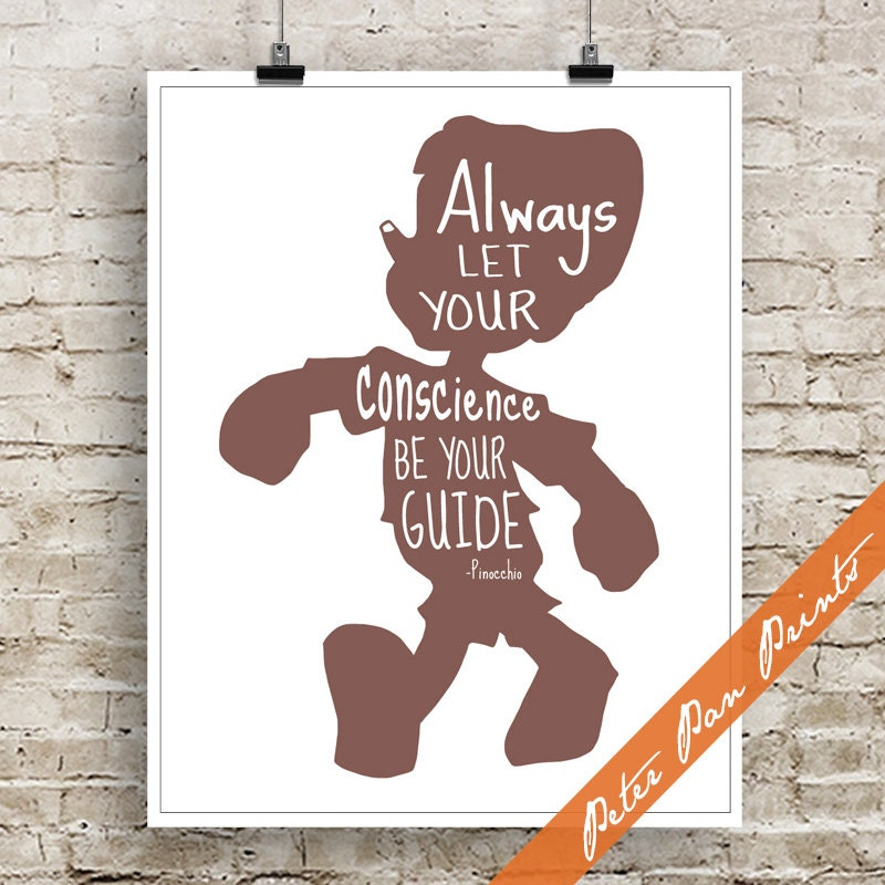 Lyric pinocchio lyrics : Always Let your Conscience Be Your Guide Pinocchio inspired
