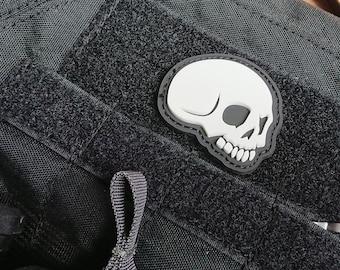 Naked Skull PVC Morale Patch