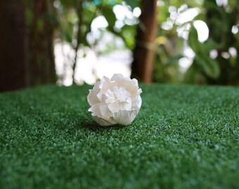 25 Peony 5 Cm Dia. 25 Frizzy Rose 5 cm. Diffuser Flowers Sola Balsa Wood Decor Spa Fragrance Wedding