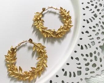 Aurelia Hoop Earrings