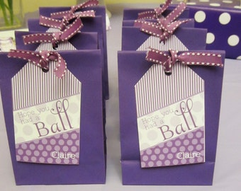 We hope you had a Ball Printable Favor Tags