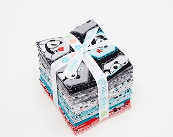 Panda Love Fat Quarter Bundle by Riley Blake Fabric