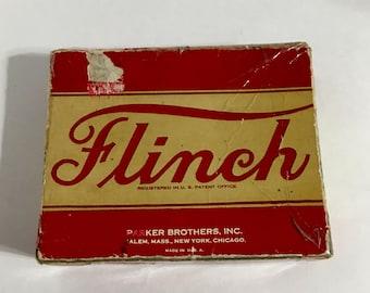 Vintage Parker Brothers Flinch Card Game 1913