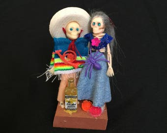 Day of the dead skeleton couple #2