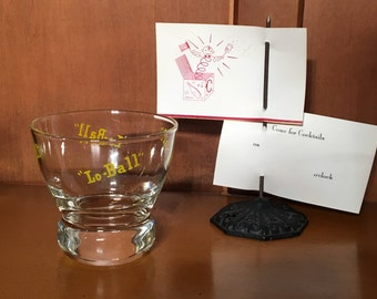 Eva Zeisel Vintage Lo-Ball Glass