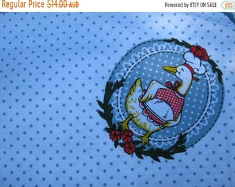 ON SALE 1980s Set of 4 Vintage Duck PlaceMats