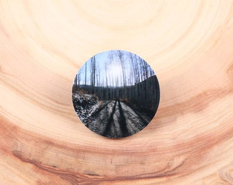 Sunset in Vail, Colorado Magnet Pin/Brooch - Photo Ware