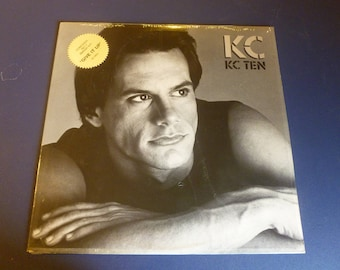 KC  KC Ten Vinyl Record LP L-8301 Meca Records 1983