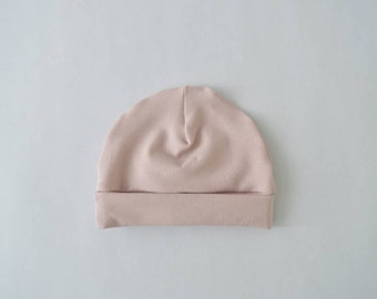 Baby Bonnet powder pink-baby clothes