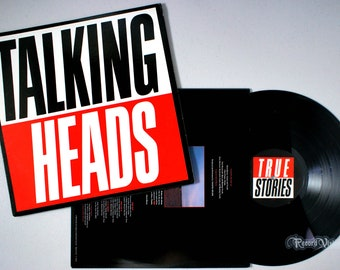 Talking Heads - True Stories (1986) Vinyl LP  David Byrne, Wild Life