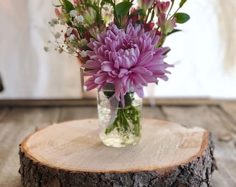 """10"""" (3""""-4"""" thick) Wooden Center Pieces"""
