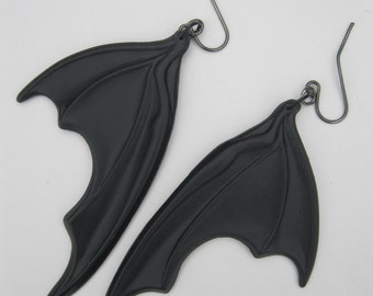 Bat Wing Dangle Earrings