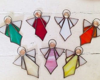 Guardian Stained Glass Angels