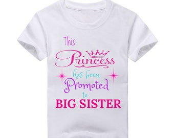 Big Sister Princess  Baby announcement