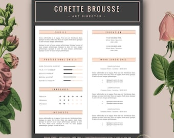 Resume modern template free download eczalinf resume yelopaper Images