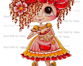 INSTANT DOWNLOAD Digital Digi Stamps Big Eye Big Head Dolls NEW Bestie Scan0001 62315 My Besties By Sherri Baldy