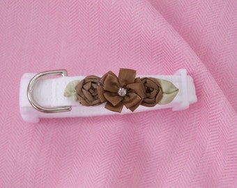 Wedding  Dog Collar Custom Made