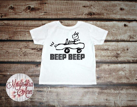 Beep Beep, Car Drawing, Toddler T-Shirt, Toddler Graphic Tee, Toddler Shirt,  Trendy Tee, Toddler Clothes