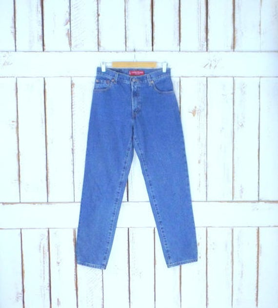 Strauss leg waisted 550 fly jeans blue relaxed denim jeans Levi faded Vintage classic high zipper jeans relaxed tapered APwqaBqgx