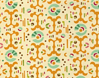 Heather Bailey Freshcut Fabric color Curry for Free Spirit Fabric